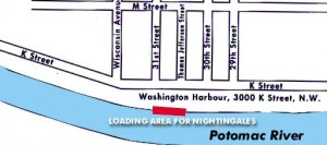 Potomac River Boat Ride Map